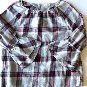 Crew Cuts | girls plaid shirt blouse top